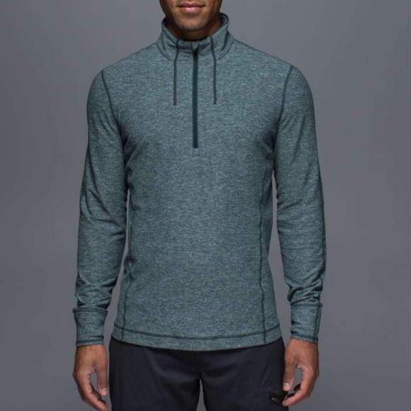 lululemon athletica Other - Lululemon Sweat Session 1/2 Zip Sz Small
